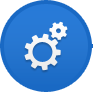 FENFAST menu icon 2 blue