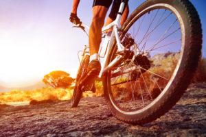 how to burn more calories riding a bike