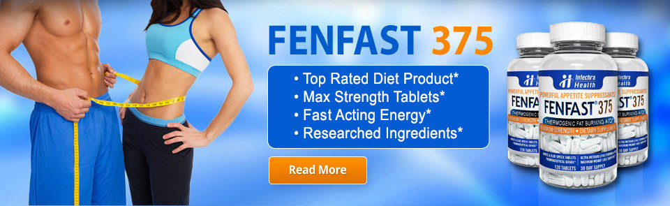 FENFAST 375 benefits list and button